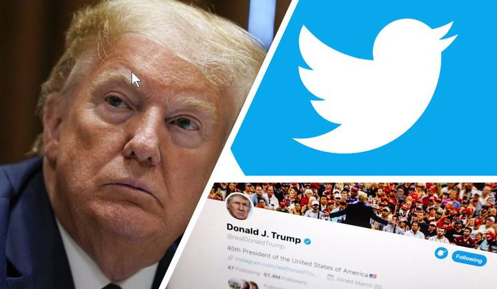 Twitter removes Donald Trump's tweet with a video over copyright