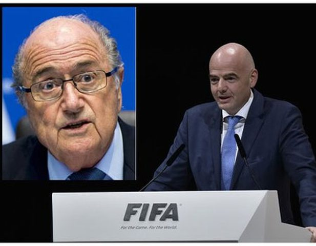 Former FIFA president Blatter calls for his successor Infantino to be suspended