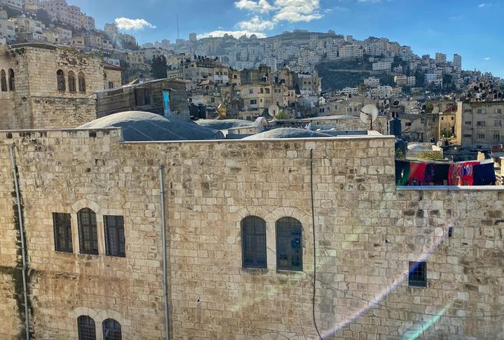 Abdul Hadi Palace in the old city of Nablus